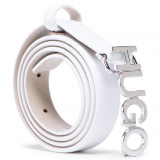 Dámský pásek HUGO - Zula Belt 2 Cm 50441986 10197802 01 100 Bílá 85