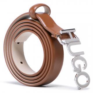 Dámský pásek HUGO - Zula Belt 2 Cm 50441986 10197802 01 216 Hnědá 85