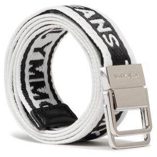 Dámský pásek TOMMY JEANS - Tjw Mini Logo Tape Belt AW0AW09753 BDS Bílá 75