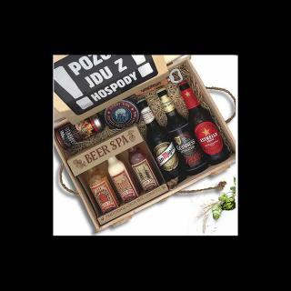 Dárkový box pro muže - pivní speciál