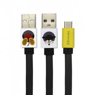 Datový kabel Disney Mickey microUSB, black