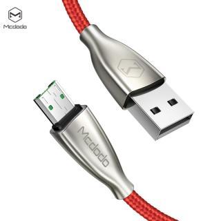 Datový kabel Mcdodo Excellence Series 4A Micro USB Cable, 1.5m, červená