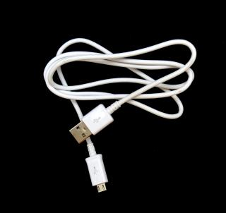 Datový kabel Samsung ECBDU4AWE microUSB bílý
