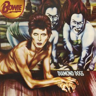 David Bowie Diamond Dogs  Black