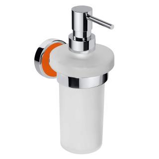 Dávkovač mýdla Bemeta TREND-I chrom, oranžová 104109018G chrom chrom