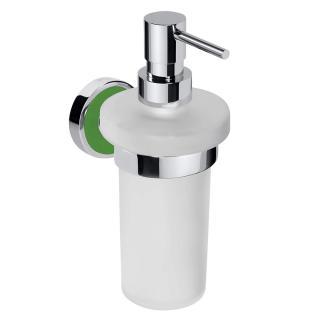 Dávkovač mýdla Bemeta TREND-I chrom, zelená 104109018A chrom chrom