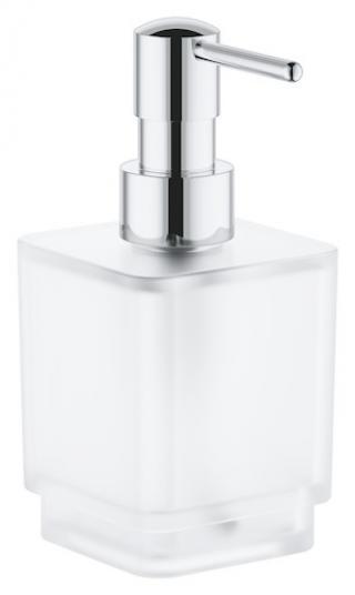 Dávkovač mýdla Grohe Selection Cube chrom 40805000 chrom chrom
