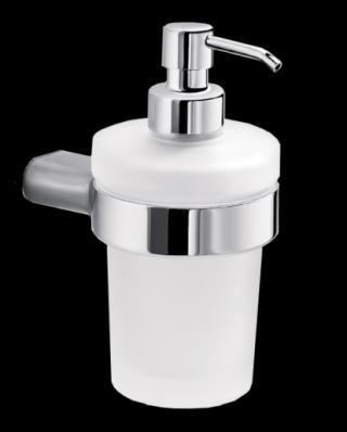 Dávkovač mýdla Inda Mito mléčné sklo A20120CR21 chrom mléčné sklo