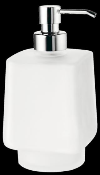 Dávkovač mýdla Inda mléčné sklo R1512B002 ostatní mléčné sklo