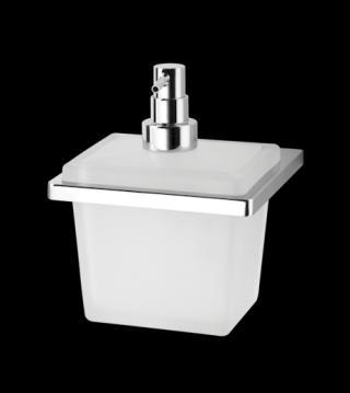 Dávkovač mýdla Inda New Europe mléčné sklo A49120CR21 chrom mléčné sklo