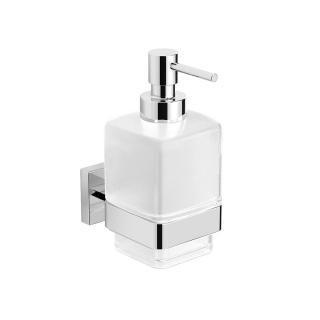 Dávkovač mýdla Swiss Aqua Technologies Simply S chrom/mléčné sklo SATDSIMS99 chrom chrom