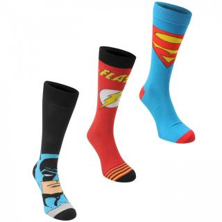 DC Comics 3 pack Crew Sock Mens pánské Multi | Other Mens 7-11