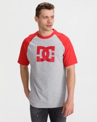 DC Star Raglan Triko Červená Šedá pánské XL