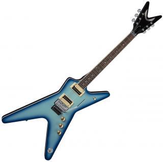 Dean Guitars ML 79 Floyd Blue Burst Sunburst