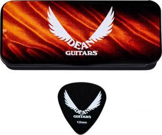 Dean Guitars Tin Light 1.00mm 6 Pack Black