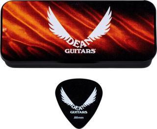 Dean Guitars Tin Light .88mm 6 Pack Black