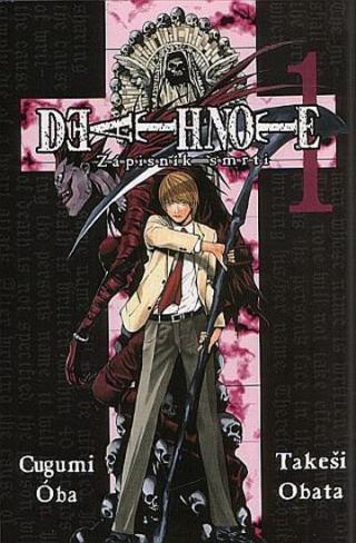 Death Note - Zápisník smrti 1 - Oba Cugumi, Obata Takeši,