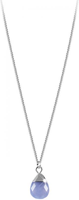 Decadorn Stříbrný náhrdelník s achátem