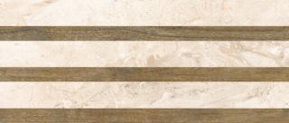 Dekor Fineza Adore ivory strips 25x60 cm mat DADORE256ST béžová ivory