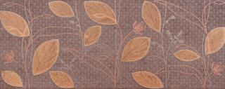 Dekor Kale Smart brown 20x50 cm mat DEK9521 hnědá brown