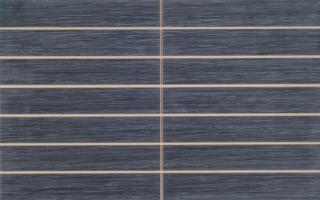 Dekor Vitra Elegant Anthracite prořez 25x40 cm mat K840762 černá Anthracite