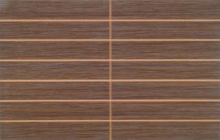 Dekor Vitra Elegant Mocha prořez 25x40 cm mat K840773 hnědá Mocha
