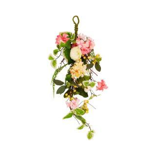 Děkorace umělé květy