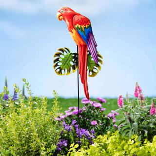 Dekorační zápich papoušek