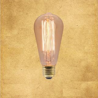 Dekorační žárovka s vlákny - 6 variant Varianta: 1