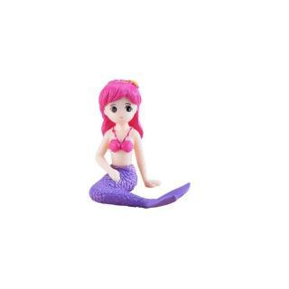 Dekorativní miniatura mořská panna Barva: růžová, Varianta: 1