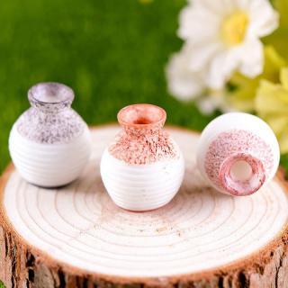 Dekorativní miniatura vázy 3 ks