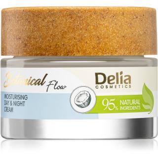Delia Cosmetics Botanical Flow Coconut Oil denní a noční krém s hydratačním účinkem 50 ml dámské 50 ml
