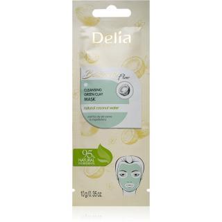 Delia Cosmetics Botanical Flow Coconut Water čisticí pleťová maska pro mastnou pleť 10 g dámské 10 g