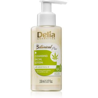 Delia Cosmetics Botanical Flow Hemp Oil čisticí pleťové mléko 150 ml dámské 150 ml