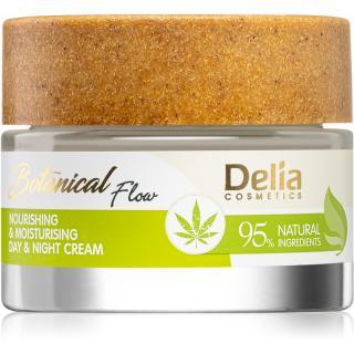 Delia Cosmetics Botanical Flow Hemp Oil vyživující hydratační krém 50 ml dámské 50 ml