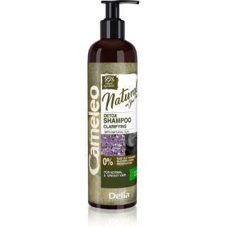 Delia Cosmetics Cameleo Natural čisticí šampon pro mastné vlasy 250 ml dámské 250 ml