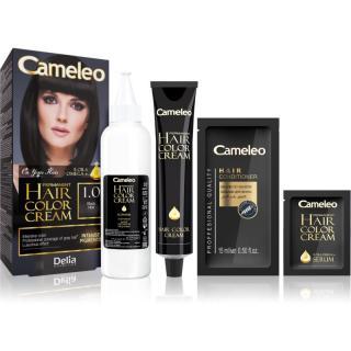 Delia Cosmetics Cameleo Omega permanentní barva na vlasy odstín 1.0 Black dámské
