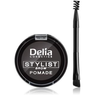 Delia Cosmetics Eyebrow Expert pomáda na obočí odstín Graphite dámské
