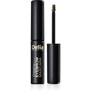 Delia Cosmetics Eyebrow Expert řasenka na obočí odstín Brown 4 ml dámské 4 ml