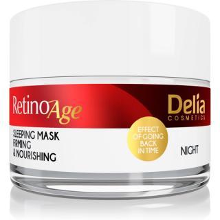 Delia Cosmetics Retino Age vyživující a zpevňující maska na noc 50 ml dámské 50 ml