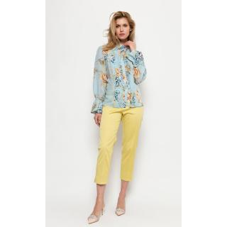 Deni Cler Milano Womans Blouse W-Dw-1416-0D-G4-56-1 dámské Light Blue 44