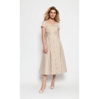 Deni Cler Milano Womans Dress W-Dc-3201-0F-N4-25-1 dámské White 42