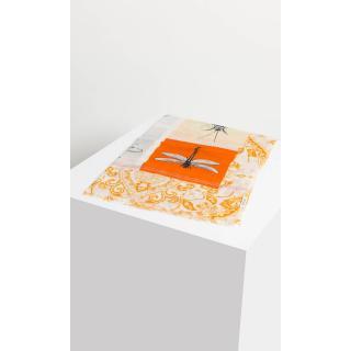 Deni Cler Milano Womans Scarf T-Ds-C110-0E-45-13-1 dámské Orange One size