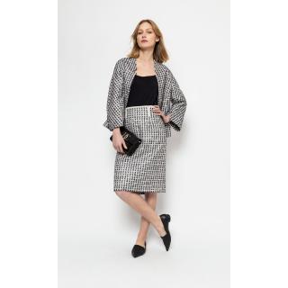 Deni Cler Milano Womans Skirt W-Dc-7004-0C-C8-56-1 dámské MULTICOLOUR 36