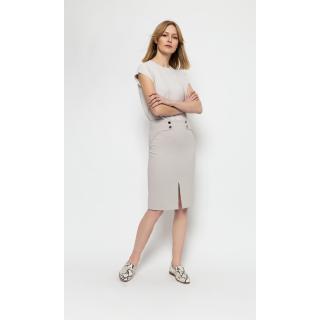 Deni Cler Milano Womans Skirt W-Do-7005-0C-N2-12-1 dámské Beige 36