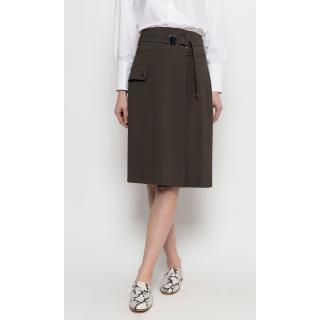 Deni Cler Milano Womans Skirt W-Ds-7102-0B-A5-48-1 dámské Green 42