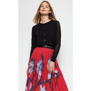 Deni Cler Milano Womans Sweater T-Dc-U401-0A-20-90-1 dámské Black 44