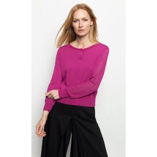 Deni Cler Milano Womans Sweater T-Dc-U401-0H-20-33-1 dámské Fuchsia 36