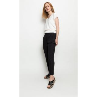 Deni Cler Milano Womans Trousers T-Dk-5201-0F-10-90-1 dámské Black 44