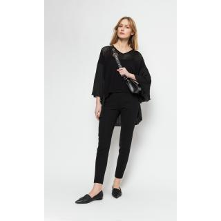 Deni Cler Milano Womans Trousers W-Do-5216-0C-N2-90-1 dámské Black 38
